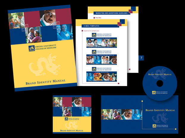 Branding for Drexel University College of Medicine, Philadelphia, PA